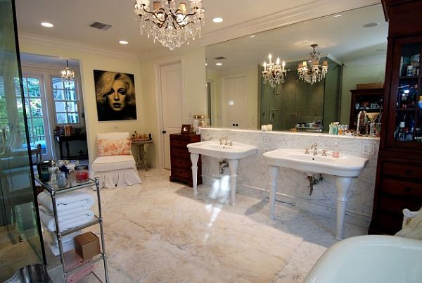 Luxury Marilyn Monroe Bathroom Theme