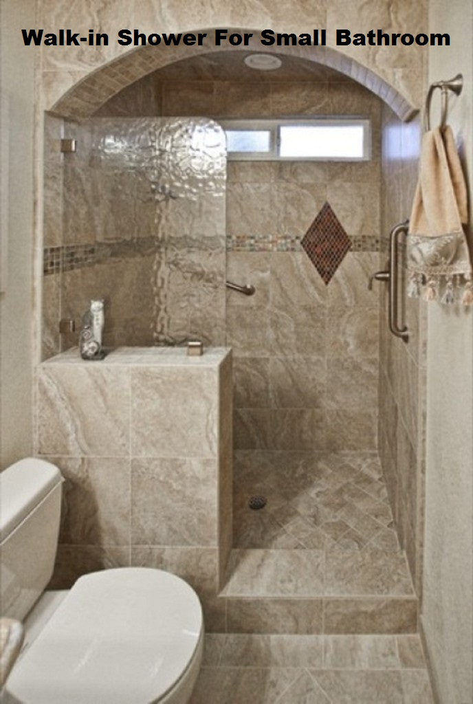 Walk in shower designs for small bathroom for Bathroom tile ideas for small bathrooms pictures